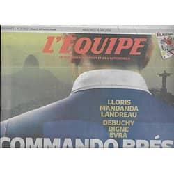 L'EQUIPE n°21850 14/05/2014  Equipe de France: commando Brésil/ Arbitres/ Djokovic/ Bouhanni/ Bruce Lee/ SLUC/ Benfica