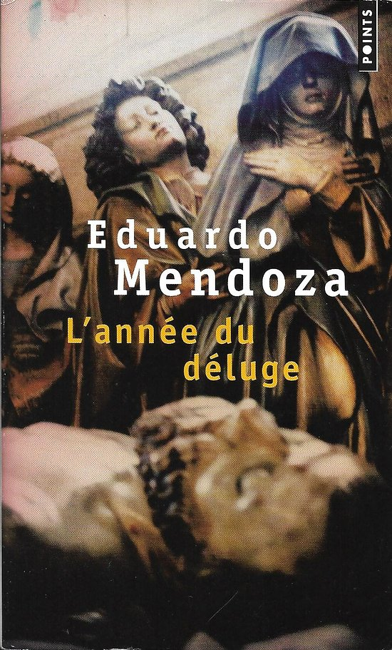 """""""L'année du déluge"""" Eduardo Mendoza/ Très bon état/ Livre poche"""