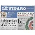 LE FIGARO n°21323 22/02/2013  Rigueur à deux vitesses/ Gao sous le feu des djihadistes/ XV de France/ Michael Edwards
