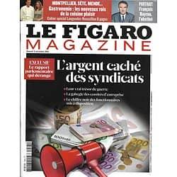 LE FIGARO MAGAZINE n°20944 03/12/2011  L'argent caché des syndicats/ Mogadiscio, le chaos/ Bayrou l'obstiné/ La voie du samouraï/ La Martinique