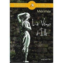 """""""La Vénus d'Ille"""" Mérimée/ Biblio Collège/ Très bon état/ Livre poche"""