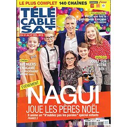 TELECABLE SAT n°1546 21/12/2019  Nagui joue les pères Noël/ Avengers: Endgame/ Ramzy Bedia/ Gastronomie française