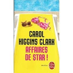 """Affaires de star!"" Carol Higgins Clark/ Très bon état/ Livre poche"