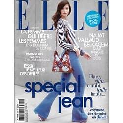 ELLE n°3588 03/10/2014  Spécial Jean/ Vallaut-Belkacem/ Lena Dunham/ La parité en Islande/ James Brown