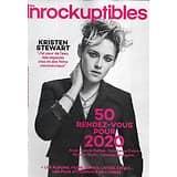 """LES INROCKUPTIBLES n°1258 08/01/2020  Kristen Stewart/ 50 rdv pour 2020/ Jeanne Balibar/ Constance Debré/ """"The Witcher""""/ Nicolas Godin"""