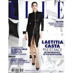ELLE n°3864 10/01/2020  Laetitia Casta, pile et face/ Amaryllis Fox, 10 ans de CIA/ Belle comme Gisele Bundchen/ Obsession de la réussite scolaire