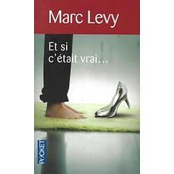 """""""Et si c'était vrai?"""" Marc Levy/ Très bon état/ Livre poche"""