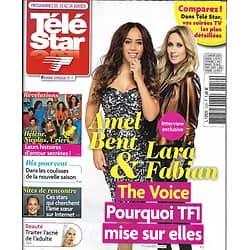 "TELE STAR n°2259 18/01/2020  Amel Bent & Lara Fabian ""The Voice""/ Stéphane Bern/ ""Hélène et les garçons""/ Albert Camus"