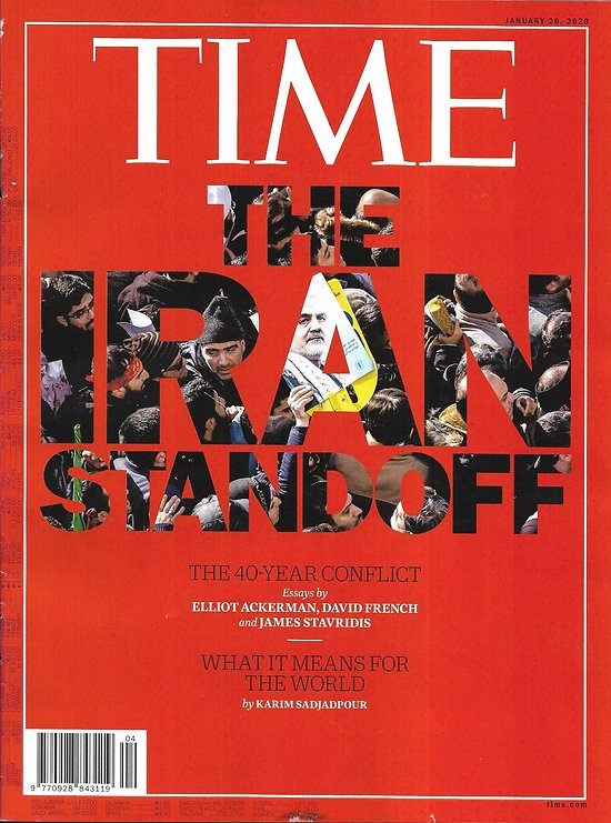 """TIME VOL.195 n°1 20/01/2020  The Iran standoff/ Pelosi's play/ """"1917""""/ Leading Taiwan/ Culture: best of decade"""