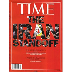 "TIME VOL.195 n°1 20/01/2020  The Iran standoff/ Pelosi's play/ ""1917""/ Leading Taiwan/ Culture: best of decade"
