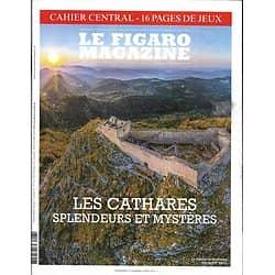 LE FIGARO MAGAZINE n°23317 02/08/2019  Les Cathares: splendeurs et mystères/ Belize, bout du monde/ Taïwan sur le qui-vive/ Transhumance du Grand Paris