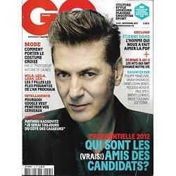 GQ n°45 novembre 2011  Etienne Daho/ Les hits qui ont changé votre vie/ Kassovitz/ Filles les + sexy/ Amis des candidats à la présidentielle
