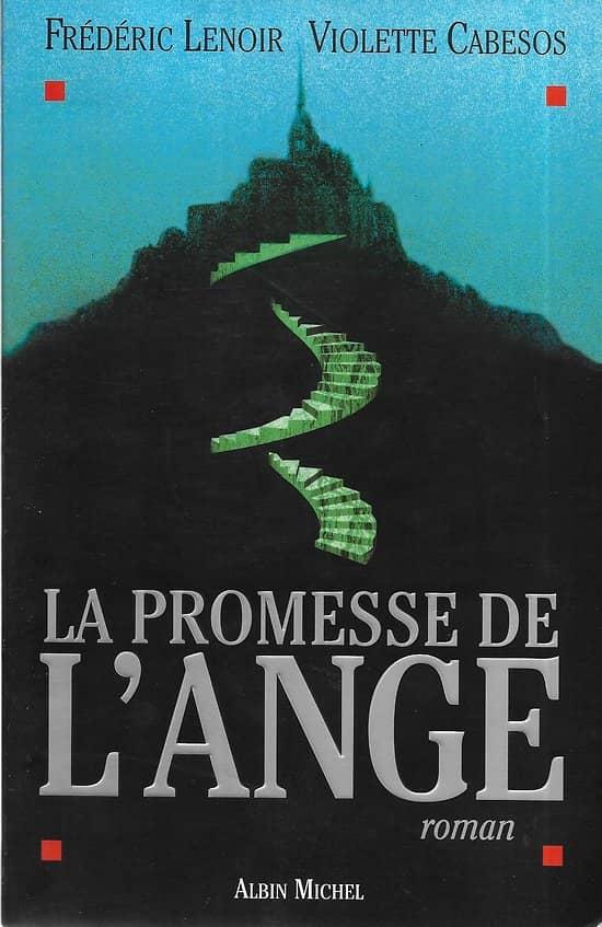 """""""La promesse de l'ange"""" Frédéric Lenoir & Violette Cabesos/ Très bon état/ Livre Grand Format"""