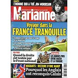 MARIANNE n°955 07/08/2015  Voyage dans la France tranquille/ Jim Morrison/ Migrants, la manip'/ Les Kurdes pris au piège