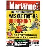 MARIANNE n°1148 15/03/2019  Impôts: mais que font-ils du pognon?/ Algérie: bataille de l'Etat de droit/ Youtube propage le complotisme/ La librairie, créateur de liens