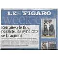 LE FIGARO n°21412 22/11/2019  Retraites: le flou persiste/ Défense européenne/ Prince Andrew/Les châteaux en péril