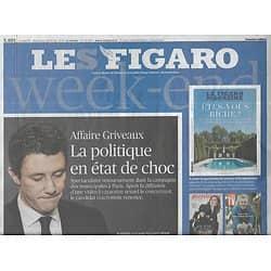 LE FIGARO n°21483 15/02/2020  Affaire Griveaux/ Epidémie de coronavirus/ Renault, année noire/ La chute d'Alain Terzian