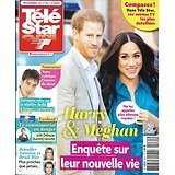 "TELE STAR n°2261 01/02/2020  Harry & Meghan/ Grégory Lemarchal/ Aniston &Pitt/ ""Demain nous appartient""/ Anne Parillaud/ pascal obispo"