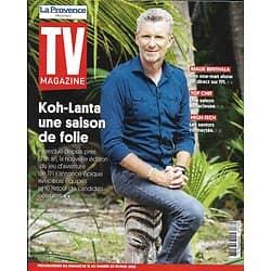 """TV MAGAZINE 16/02/2020 n°1724  """"Koh-Lanta"""" une saison de folie/ Denis Brogniart/ """"Top Chef""""/ Seniors connectés/ Malik Bentalha"""