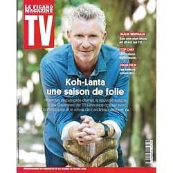 """TV MAGAZINE 16/02/2020 n°1724  """"Koh-Lanta"""" une saison de folie/ Denis Brogniart/ """"Top Chef""""/ Seniors connectés/ Malik Bentalha (copy)"""