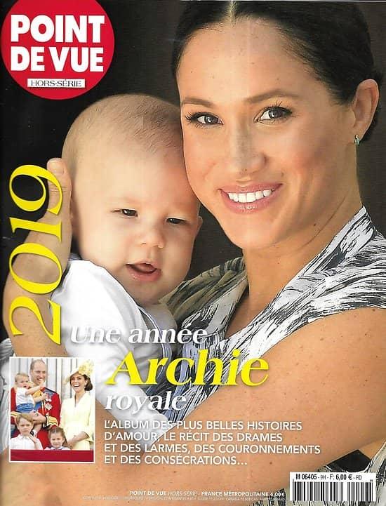 POINT DE VUE n°9H   2019 Une année Archie royale!/ Belles histoires d'Amour/ Chirac/ Notre-Dame/ Naruhito/ Elizabeth II