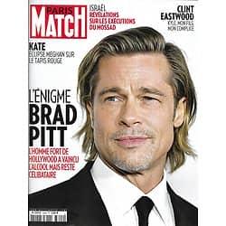 PARIS MATCH n°3692 06/02/2020  L'énigme Brad Pitt/ Clint Eastwood & Kyle/ Mossad/ Coronavirus/ Kate Middleton/ Eva Herzigova