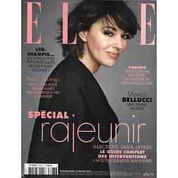 ELLE n°3867 31/01/2020  Monica Bellucci/ Spécial rajeunir/ Iris Brey/ Mode black/ BD/ Catherine Meurisse Jean-Paul Gaultier/ Justin Bieber