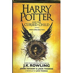 """Harry Potter and the Cursed Child"" Parts one and two, based on an original story by J.K. Rowling/ Très bon état/ Livre grand format"