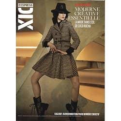 L'EXPRESS DIX n°6/10 20/02/2020  Spécial Mode dans l'oeil de Coco Rocha/ Olivier Rousteing/ Gisele Bundchen/ Vincent Lacoste