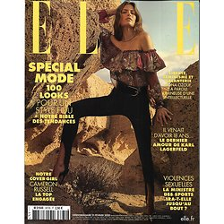 ELLE n°3870 21/02/2020  Spécial mode avec Cameron Russell/ Giabiconi & Lagerfeld/ Louboutin/ Ozouf