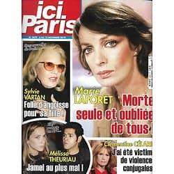 ICI PARIS n°3879 06/11/2019  Hommage à Marie Laforêt/ Sylvie Vartan/ Miss France/ Grace Kelly/ Melissa Theuriau