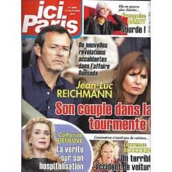 ICI PARIS n°3880 13/11/2019  Jean-Luc Reichmann/ Catherine Deneuve/ Françoise Hardy/ Laurence Boccolini/ Marie Laforêt/ Pascale Roberts