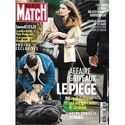 PARIS MATCH n°3694 20/02/2020  Affaire Griveaux: notre enquête/ Virus: psychose à Pékin/ Camille Lacourt & Alice/ Renée Zelleweger/ Génération Frechon