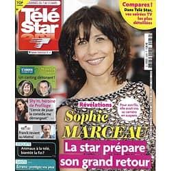 TELE STAR n°2266 07/03/2020  Sophie Marceau/ Shy'm/ L'Amour est dans le pré/ Alain Bashung/ Dunkerque/ Christophe Lambert