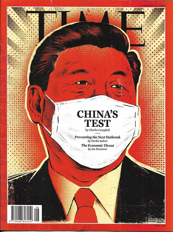 TIME VOL.195 n°6 17/02/2020  China's Test: Xi's challenge/ 2020 Democrats/ James Taylor/ Mary Higgins Clark