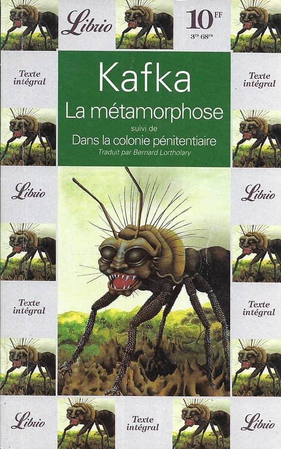 """""""La métamorphose"""" suivi de """"Dans la colonie pénitentiaire"""" Franz Kafka/ Très bon état/ 1996/ Livre broché"""