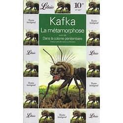 """""""La métamorphose"""" suivi de """"Dans la colonie pénitentiaire"""" Franz Kafka/ Bon état/ 1996/ Livre broché"""
