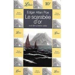 """""""Le scarabée d'or"""" suivi de """"La lettre volée"""" Edgar Allan Poe/ Très bon état/ 1998/ Livre broché"""