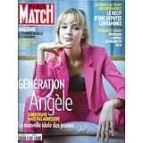PARIS MATCH n°3697 12/03/2020  Génération Angèle/ Covid virus l'ennemi public n°1/ Amazonie: les Yanomami par Salgado/ Meghan & Harry, ultime cérémonie