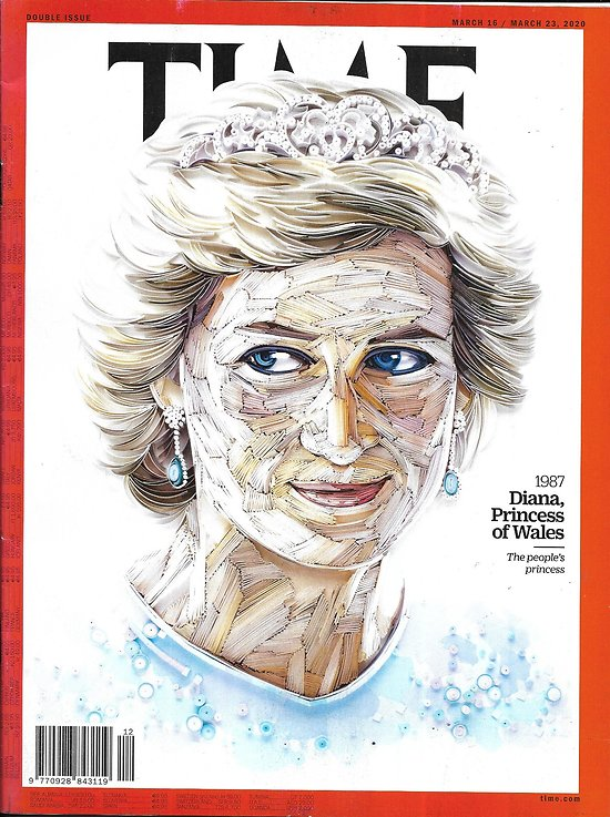 TIME VOL.195 n°9&10 16/03/2020  100 Women of the Year: a Century redefined / Diana, Princess of Wales/ Covid-19