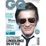 "GQ n°87 mai 2015  Jacques Dutronc/ French Tech/ Vol MH370/ ""Game of Thrones""/ Top des Français les + influents/ Olga Kurylenko"