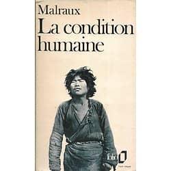 """""""La condition humaine"""" André Malraux/ 1971/ Bon état d'usage/ Livre poche"""