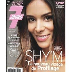 "TELE 7 JOURS n°3120 14/03/2020  Shy'm dans ""Profilage""/ Michaël Youn/ ""Superman"" H.Cavill/ Emily Blunt/ Cantona & Brakni/ Moussa ""Koh-Lanta"""