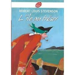 """""""L'île au trésor"""" Robert Louis Stevenson/ Très bon état/ Classique Collège/ Livre poche"""