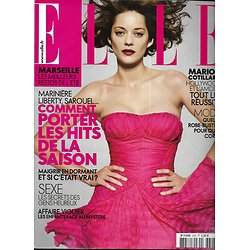 ELLE n°3307 16/05/2009  Marion Cotillard/ Audrey Marnay/ Emmanuelle Devos/ Olivia Ruiz/ Mode