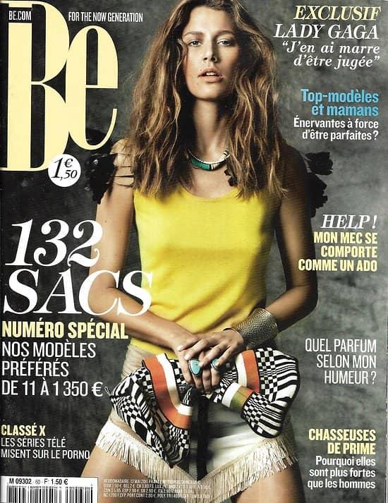 BE n°60 13/05/2011  Spécial accessoires/ Lady Gaga/ Chasseuse de primes/ Top-modèles mamans/ Bruxelles