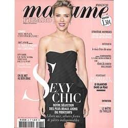 MADAME FIGARO n°36 Février 2016  Scarlett Johansson/ Looks: Sexy Chic/ Kate Winslet/ David Cronenberg/ Jamais sans mon ex