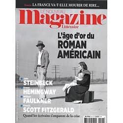 LE NOUVEAU MAGAZINE LITTERAIRE n°26 février 2020  L'âge d'or du Roman Américain/ Pouvoir des humoristes/ Australie en flammes