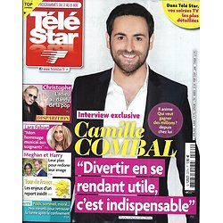 TELE STAR n°2274 02/05/2020  Camille Combal/ Christophe/ Lara Fabian/ Meghan & Harry/ Eddy Mitchell/ Charlotte Gainsbourg