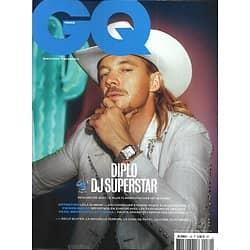 GQ n°139 avril 2020  Diplo DJ superstar/ Leïla Slimani/ Deepfakes/ Tatoueurs de détenus/ Manchester/ The Strokes